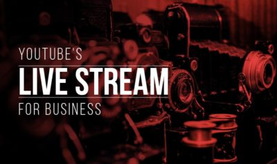 What is live streaming on YouTube?