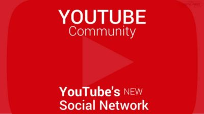 What is Community in YouTube and Parts of Community
