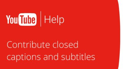 Your Contribution in YouTube