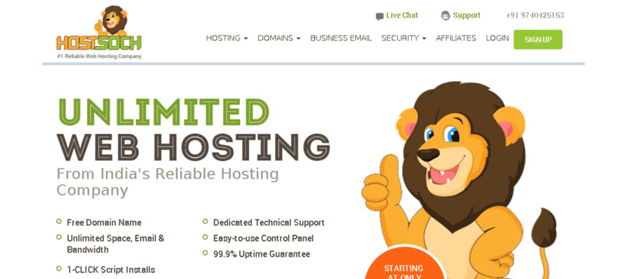 Hostsoch Hosting Coupon